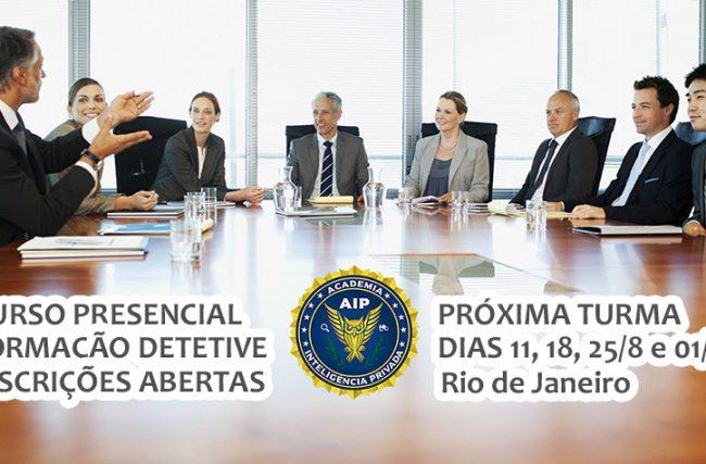 Escola de detetives anuncia nova turma do curso de formação de investigadores profissionais