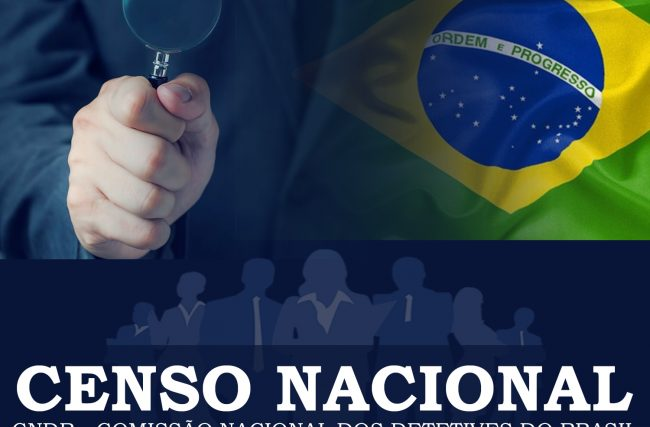 Detetives organizam o primeiro Censo Nacional da categoria